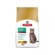 Hill's Science Diet Perfect Weight Dry Cat Food, 15.5 lbs.