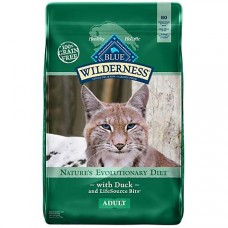 Blue Buffalo Blue Wilderness Adult Duck Recipe Dry Cat Food, 11 lbs.
