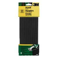 3M 4-3/16 in. x 11-1/4 in. 120 Grit Medium Drywall Sanding Screens (2-Pack)