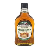 Maple Grove Farms Maple Syrup Dark Amber Grade A Pure All Natural