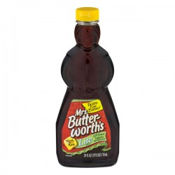 Mrs. Butter-worth's Syrup Lite