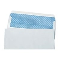 "Staples Self-Sealing Security-Tint #10 Envelopes, 4-1/8"" x 9-1/2"", White, 500/Box (511289/99296)"