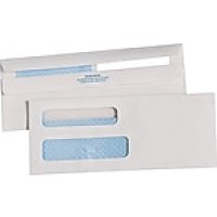 Quality Park® Redi-Seal™ Double Window Security Business Envelopes, #8-5/8, 500/Box