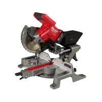 Milwaukee M18 FUEL 18-Volt Lithium-Ion Brushless Cordless 7-1/4 in. Dual Bevel Sliding Compound Miter Saw Kit W/(1) 5.0Ah Battery