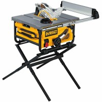 DEWALT 15-Amp Corded 10 in. Compact Job Site Table Saw with Site-Pro Modular Guarding System with Stand