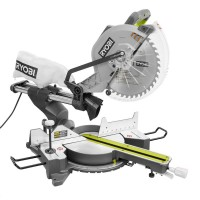 Ryobi 15 Amp Corded 12 in. Sliding Miter Saw with Laser