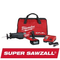 Milwaukee M18 FUEL 18-Volt Lithium-Ion Brushless Cordless SUPER SAWZALL Orbital Reciprocating Saw Kit w/(1) 12.0 Ah Battery