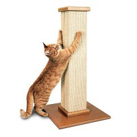 "SmartCat Ultimate Scratching Post, 32"" H"