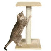 Trixie Espejo Scratching Post in Beige, 27""