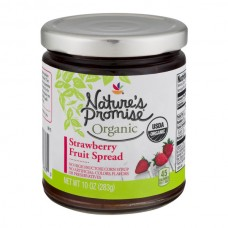Nature's Promise Organic Fruit Spread Strawberry