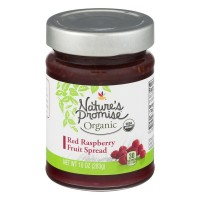 Nature's Promise Organic Fruit Spread Red Raspberry