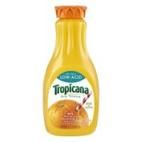 Tropicana Pure Premium 100% Orange Juice Low Acid No Pulp