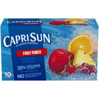 Capri Sun Fruit Punch Juice - 10 pk