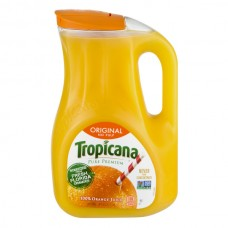 Tropicana Pure Premium 100% Pure Orange Juice Original Pulp Free