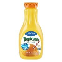 Tropicana Pure Premium 100% Orange Juice No Pulp Calcium + Vitamin D Non-G