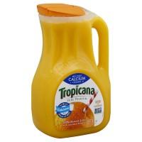 Tropicana Pure Premium 100% Orange Juice Calcium + Vitamin D No Pulp