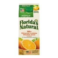 Florida's Natural 100% Orange Juice No Pulp Non GMO