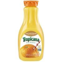Tropicana 100% Pure Orange Juice Lots of Pulp Non-GMO