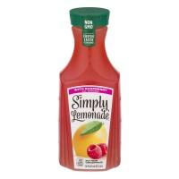 Simply Lemonade Lemonade with Raspberry All Natural