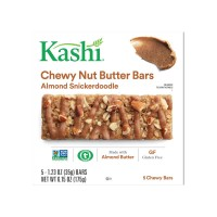 Kashi Chewy Nut Butter Bars Almond Snickerdoodle Gluten Free - 5 ct