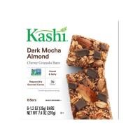 Kashi Chewy Granola Bars Dark Mocha Almond - 6 ct