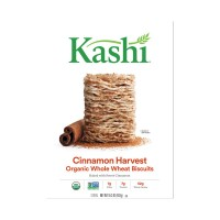 Kashi Whole Wheat Biscuits Cereal Cinnamon Harvest Organic