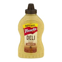 French's Spicy Brown Deli Mustard