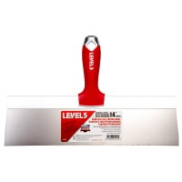Level 5 14 in. Stainless Steel Taping Knife with Soft Grip
