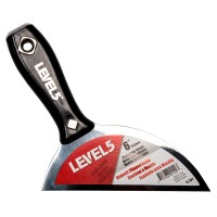 Level 5 6 in. Blade with 30-Degree Angle Stainless Steel Drywall Clipped Knife