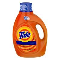 Tide Liquid Laundry Detergent Original Scent HE