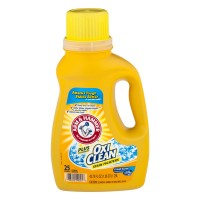Arm & Hammer Liquid Laundry Detergent Plus Oxi Clean Fresh Scent HE