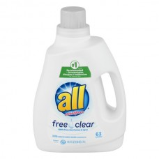 all Liquid Laundry Detergent Free Clear