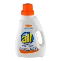 all Free Clear Liquid Laundry Detergent OXI-Active