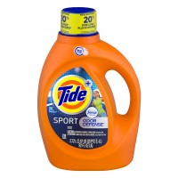 Tide + Sport Liquid Laundry Detergent Febreze Freshness Odor Defense