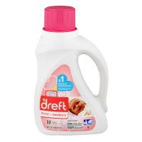 Dreft Stage 1 Newborn Baby Liquid Laundry Detergent HE