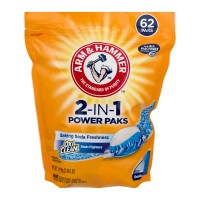 Arm & Hammer 2-In-1 Power Paks with Oxi Clean Stain Fighters Laundry Pods