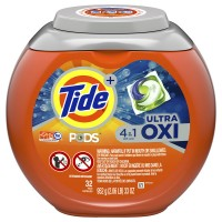 Tide + Ultra Oxi PODS Laundry Detergent