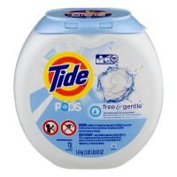 Tide PODS Detergent Free & Gentle