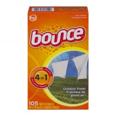 Bounce Fabric Softener Sheets Outdoor Fresh