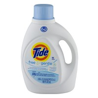 Tide Liquid Laundry Detergent Free & Gentle HE