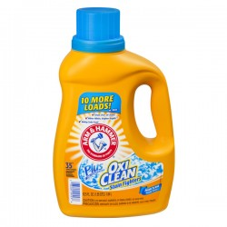 Arm & Hammer Liquid Laundry Detergent Plus OxiClean Fresh Scent