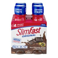 SlimFast Meal Replacement Shake Original Rich Chocolate Royale - 4 pk