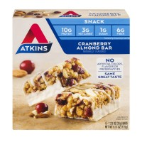 Atkins Snack Bars Cranberry Almond - 5 ct