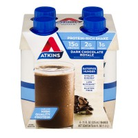 Atkins Dark Chocolate Royale Shake RTD - 4 pk
