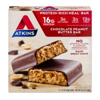 Atkins Meal Bars Chocolate Peanut Butter - 5 ct