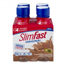 SlimFast Original Meal Replacement Shake Creamy Milk Chocolate - 4 pk