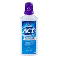 ACT Dry Mouth Anticavity Fluoride Rinse with Xylitol Soothing Mint