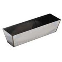 14 in. Heli-Arc Stainless Steel Drywall Mud Pan