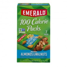Emerald 100 Calorie Packs Walnuts & Almonds Natural - 7 ct