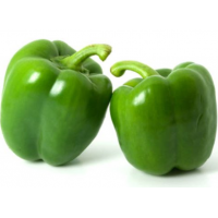 Organic Peppers Green
